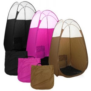 The color of your tan tent should be chosen in such a way it gives a comfortable feeling to you and your client