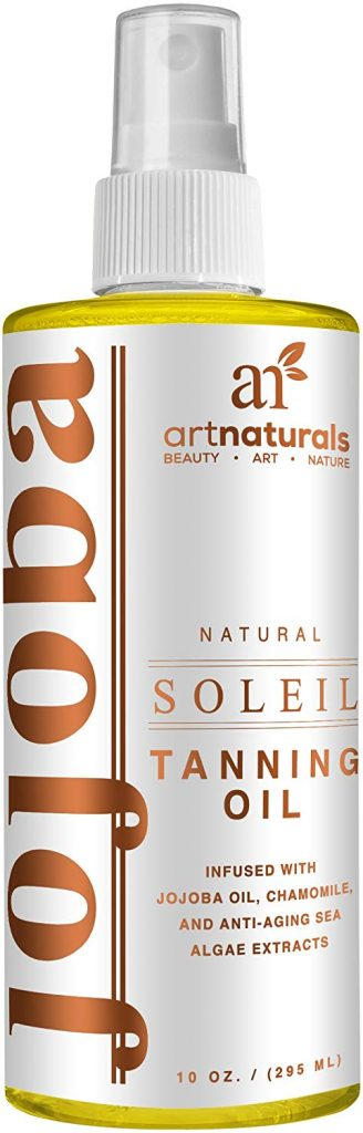 Art Naturals is a deep tanning oil