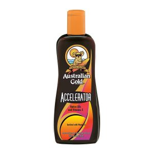 Australian Gold Dark Tanning Accelerator is one of the top indoor tanning lotion without bronzer