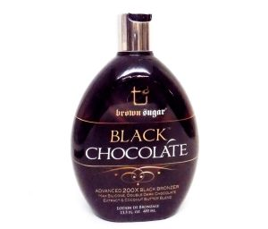 Brown Sugar Black Chocolate 200x is the best tanning bed lotion for darkest tan possible