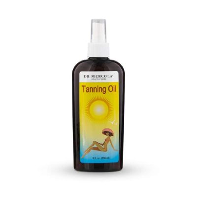 Dr. Mercola Natural is a odorless sun tanning oil