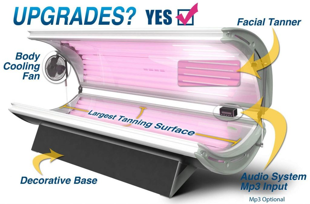Sunfire 16 Deluxe is a safe tanning bed