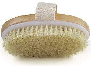 Dry Skin Body Brush is a good brush to exfoliate your skin before spray tan