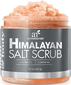 Himalayan Salt Scrub is our top exfoliator