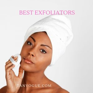 best exfoliators to use before spray tan