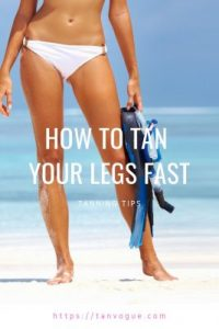 This article explain how to tan your legs fast if they are finding it hard to get a glowing tan