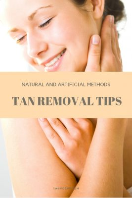 how to get rid of a tan - home remedies and fast methods