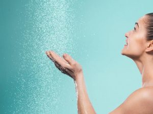 spray tan info on showering