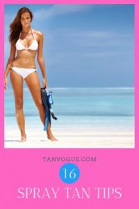 spray tan tips and tricks to get a good tan