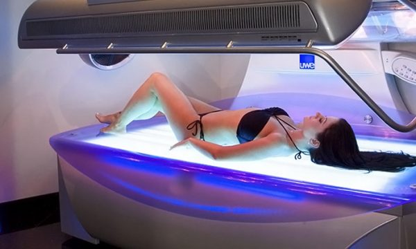 perfect time to use a tanning bed