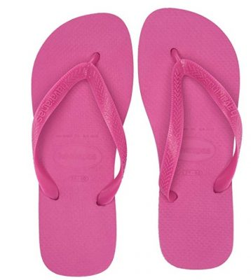 flip flops are the best spray tan shoes you can wear