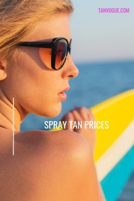 How Much is a Spray Tan? Price Comparison