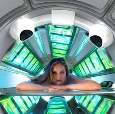 vitamin D tanning beds